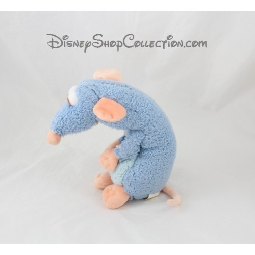 peluche r my rat disney store ratatouille disney bleu 22 cm disne. Black Bedroom Furniture Sets. Home Design Ideas
