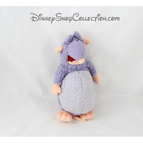 peluche django rat disney store ratatouille disney bleu 20 cm dis. Black Bedroom Furniture Sets. Home Design Ideas