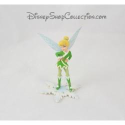 Figurine Fée Clochette BULLYLAND tenue hiver Disney Bully 10 cm