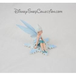 Bígaro BULLYLAND invierno hada hadas estatuilla Tinker Bell Disney Bully 6 cm