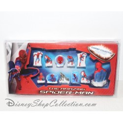 Coffret collector fèves Spiderman MARVEL 11 fèves en porcelaine Disney