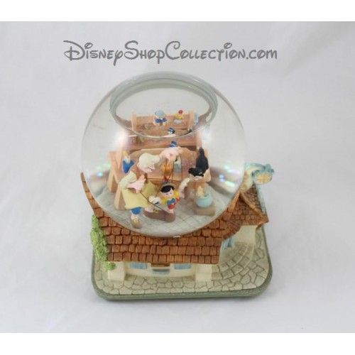 Snow globe musical pinochio disney when you wish upon a star boule - Boule a neige collectionneur ...