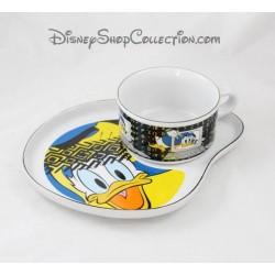 Ensemble assiette et bol STUDIO MOONFLOWER Disney canard Donald céramique