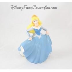Figurine céramique Aurore DISNEY La belle au bois dormant robe bleue 15 cm