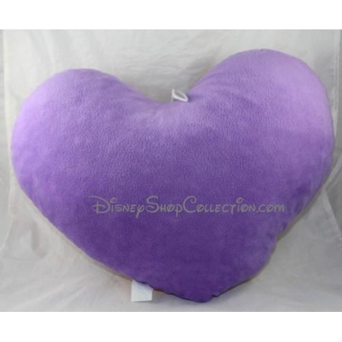 coussin en forme de coeur disney la belle et le clochard 35 cm di. Black Bedroom Furniture Sets. Home Design Ideas