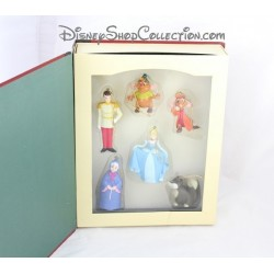 Livre Story Book DISNEY Cendrillon Storybook 6 ornements figurines résine 10 cm