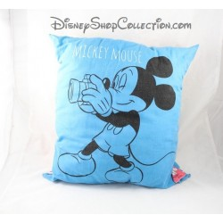 Coussin vintage Mickey Mouse DISNEY carré multi faces Leny Ortis 30 cm