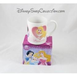 Taza princesas DISNEY Cenicienta Aurora y taza de cerámica de Blanche Neige