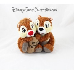 Peluche écureuils Tic et Tac DISNEYLAND PARIS Best friends 18 cm