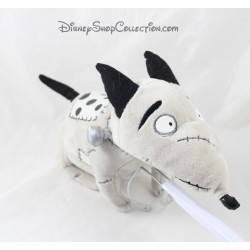 Peluche perro Sparky DISNEY STORE Frankenweenie gris Tim Burton 34 cm