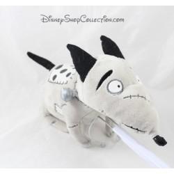 Peluche Sparky chien DISNEY STORE Frankenweenie gris Tim Burton 34 cm