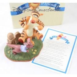 Naturaleza Tigger DISNEY hinchable estatuilla de porcelana Pooh y amigos