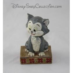 Gatto di figurina Figaro DISNEY tradizioni Buono Figaro vetrina collezione 12 cm