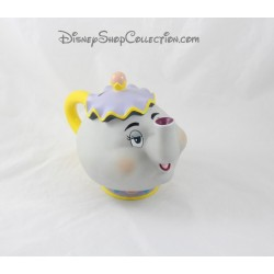 Piggy teapot Mrs. Samovar DISNEY beauty and the beast figurine vintage pvc