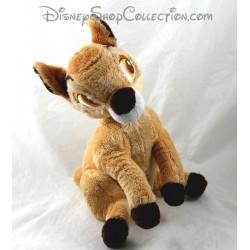 Peluche biche DISNEY STORE Bambi assise 29 cm