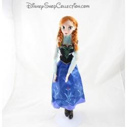 Poupée chantante Anna DISNEY STORE La reine des neiges mouvement 40 cm