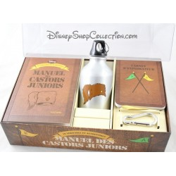 Manuel des castors Juniors DISNEY coffret kit de survie explorateur