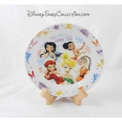 Assiette céramique les fées Clochette DISNEY FAIRIES Tinker Bell 19 cm