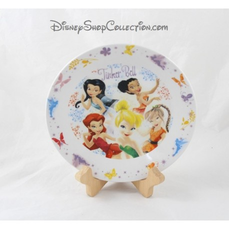 Ceramic plate fairies Tinker Bell DISNEY FAIRIES Tinker Bell 19 cm