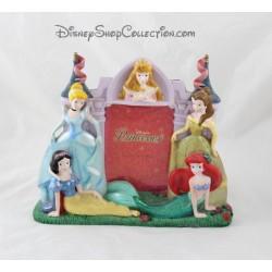 Marco de fotos de Princesas Disney Cenicienta Aurora Snow blanco Ariel Belle Disney resina