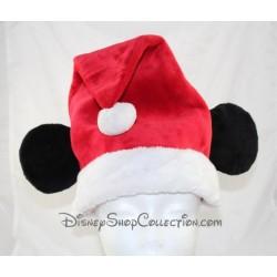 Bonnet de Noël Mickey DISNEY STORE Taille adulte oreilles
