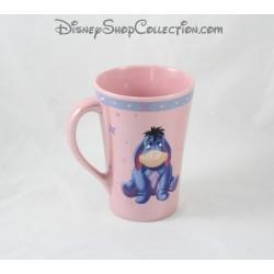 Mug Bourriquet DISNEY STORE tasse rose en céramique 13 cm