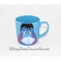 Mug en relief Bourriquet DISNEY STORE Oh Well tasse bleue en céramique 3D 9 cm