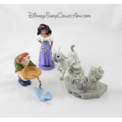 Figurines Esmeralda DISNEY Le Bossu de Notre Dame lot de 4