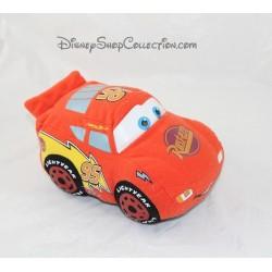 Peluche voiture Flash Mcqueen NICOTOY Cars Disney 20 cm