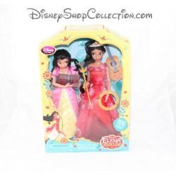 Set poupée mannequin Elena et Isabel DISNEY STORE Elena d'Avalor Singing chantante