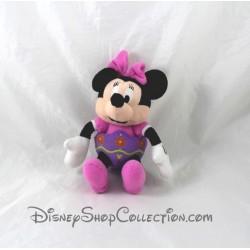 Peluche Minnie GIPSY Disney pâques oeuf fleurs violet 20 cm