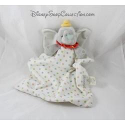 Doudou Dumbo DISNEY STORE couverture layette étoiles éléphant Disney Baby Store 38 cm