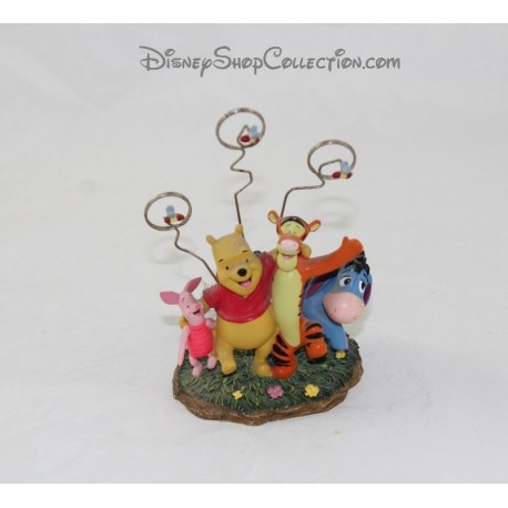 Figurine porte photo Winnie l'ourson DISNEYLAND PARIS Disney 13 cm
