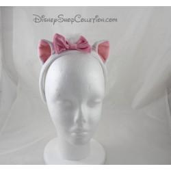 Cat headband Marie DISNEYLAND PARIS Les Aristocats white pink