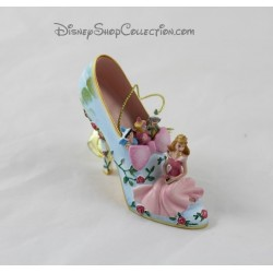 Sleeping beauty Aurora DISNEY shoe ornament Once Upon a Slipper