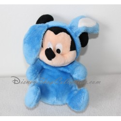 Peluche Mickey DISNEY NICOTOY pâques lapin bleu