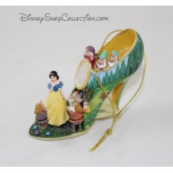 Chaussure Blanche Neige et les 7 nains DISNEY ornement Once Upon a Slipper