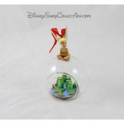 Boule de Noël fée Clochette DISNEYLAND PARIS Peter Pan île le Pays Imaginaire