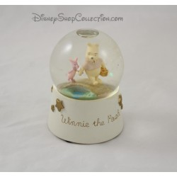 Snow globe Winnie l'ourson DISNEY boule à neige étoile beige