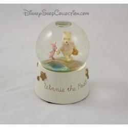 Snow globe Winnie l'ourson DISNEY boule à neige étoile beige