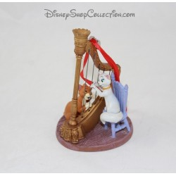 Figurine ornement Duchesse et O'Malley DISNEY STORE Les Aristochats décoration Noël