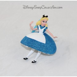Figurine résine Alice DISNEY ornement robe à paillettes Sketchbook