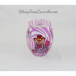 Candle cat Cheshire DISNEY PARKS Alice in the Wonderland jar 10 cm