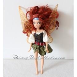 Poupée fée Zarina DISNEY Clochette et la fée pirate bat des ailes 27 cm
