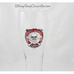 Verre à bière DISNEYLAND PARIS Pirates des Caraibes fragile Disney 23 cm