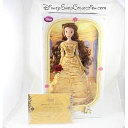 Limitada Belle DISNEY STORE limited edition la belleza y la muñeca de la bestia