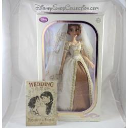 Begrenzte Puppe Rapunzel DISNEY STORE limitierte Auflage der Braut Rapunzel