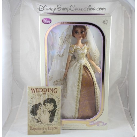 Limited doll Rapunzel DISNEY STORE limited edition the bride Rapunzel
