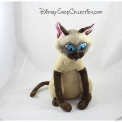 Peluche chat siamois DISNEY STORE La belle et le clochard Si Am 34 cm