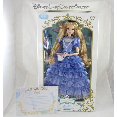 Poupée limitée Alice in Wonderland DISNEY STORE limited edition LE Alice au pays des merveilles